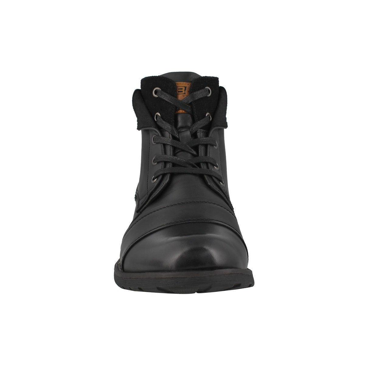 Mns Baker black lace up ankle boot