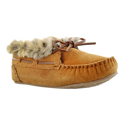 SoftMoc Women's BALI HI chestnut suede moccasin bootie