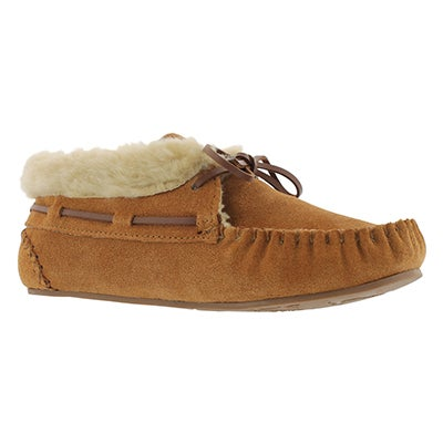 SoftMoc Women's BALI HI plain chestnut moccasin bootie