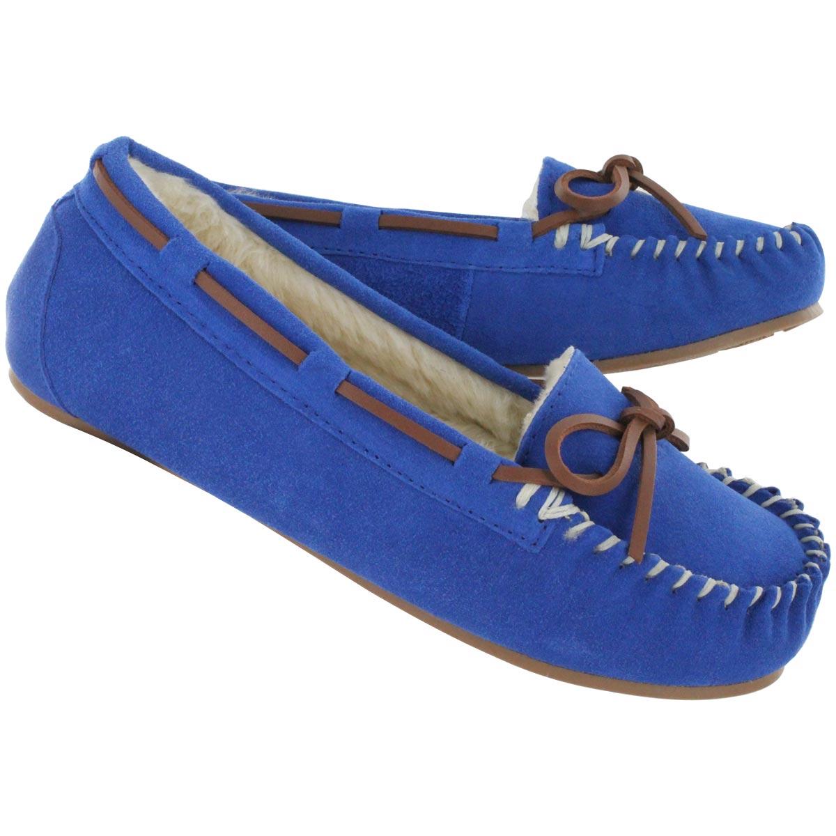 Mocassin su�de bleu BALI II, fem