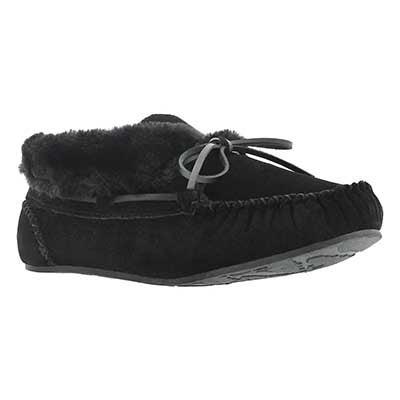 Lds Bali Hi Plain black/black moc bootie