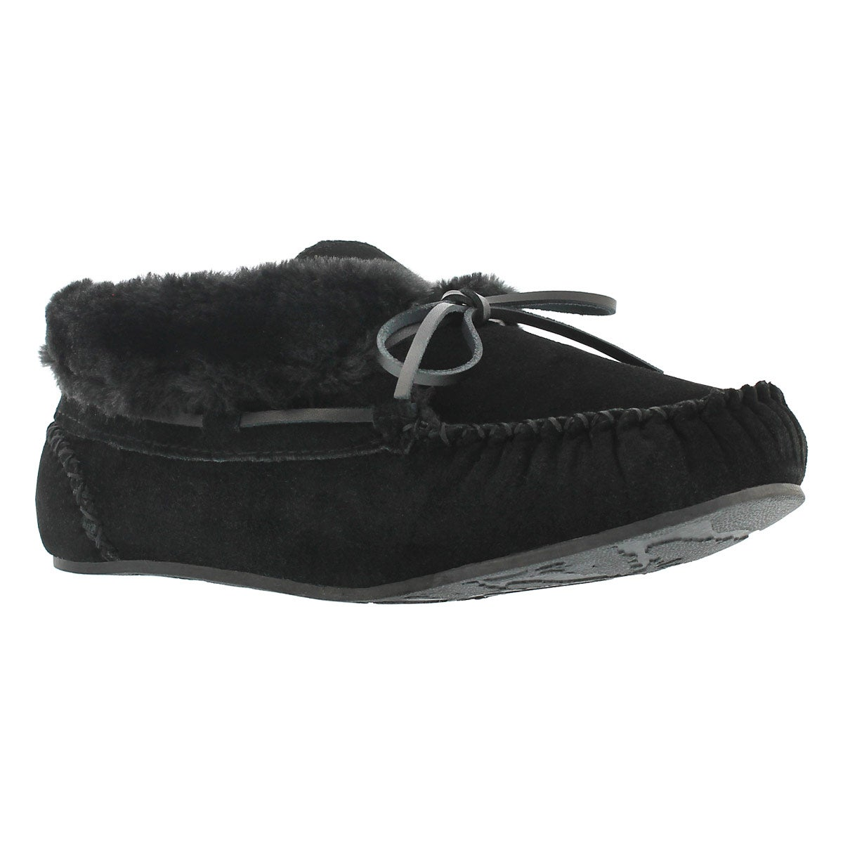 Women's BALI HI PLAIN black/black moc booties
