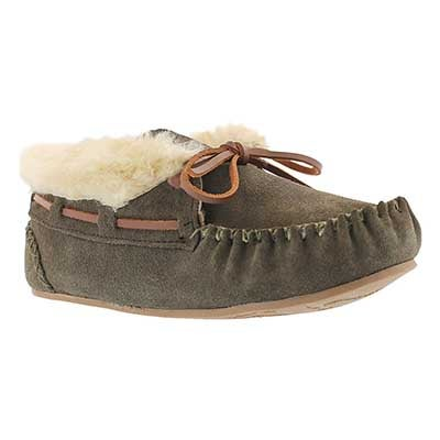 SoftMoc Women's BALI HI PLAIN birch moc booties