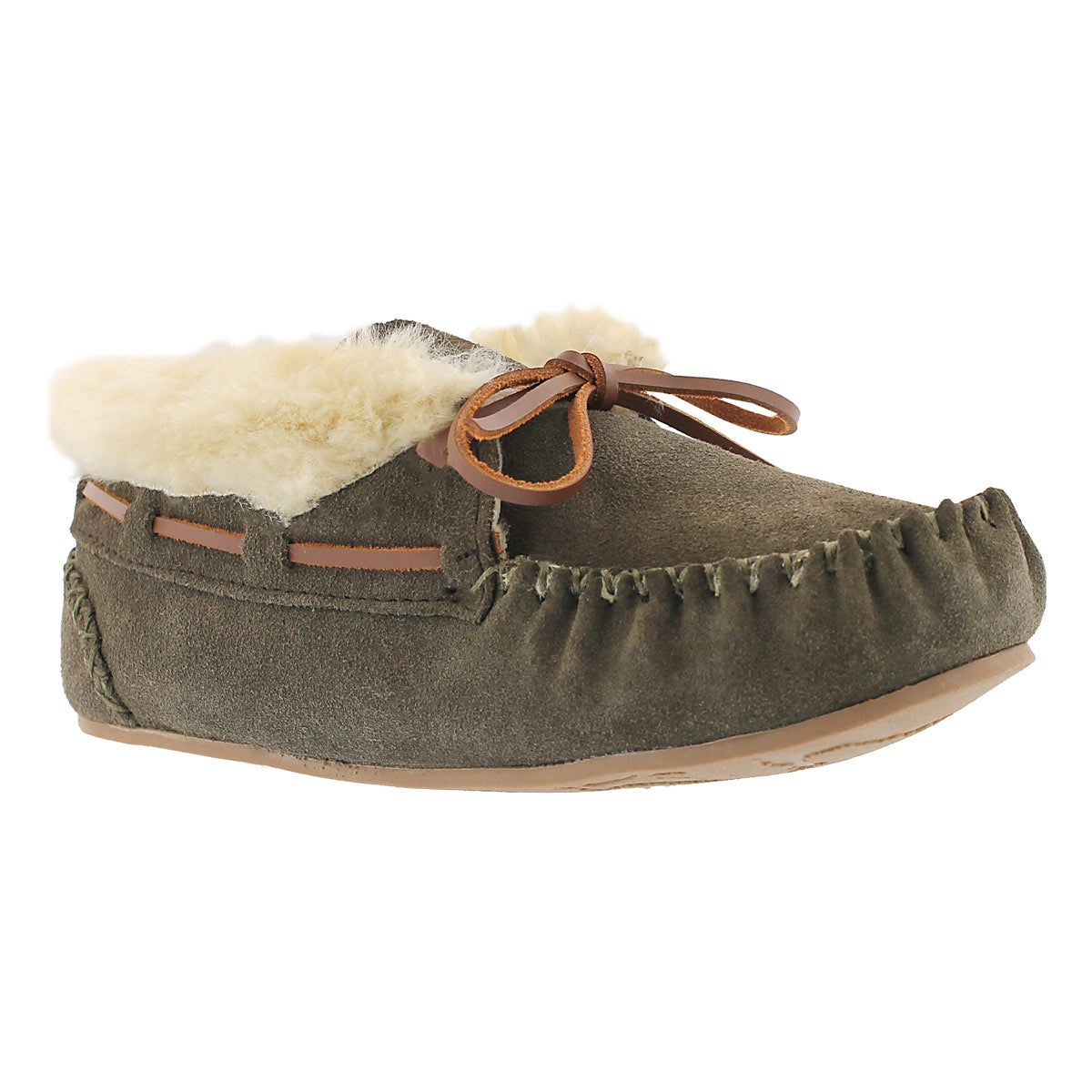 Women's BALI HI PLAIN birch moc booties