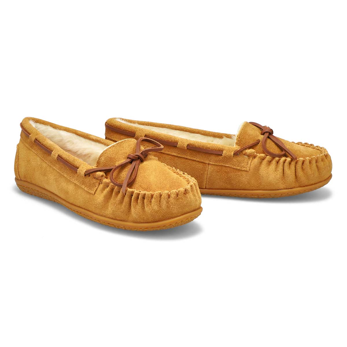 Lds BaliSupreme ches suede ballerina moc