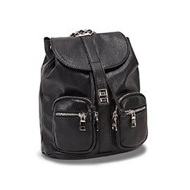 Lds BAlly black fashion backpack