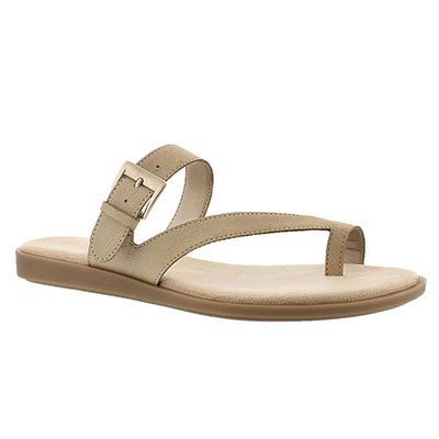 Lds Band Master bone toe loop sandal