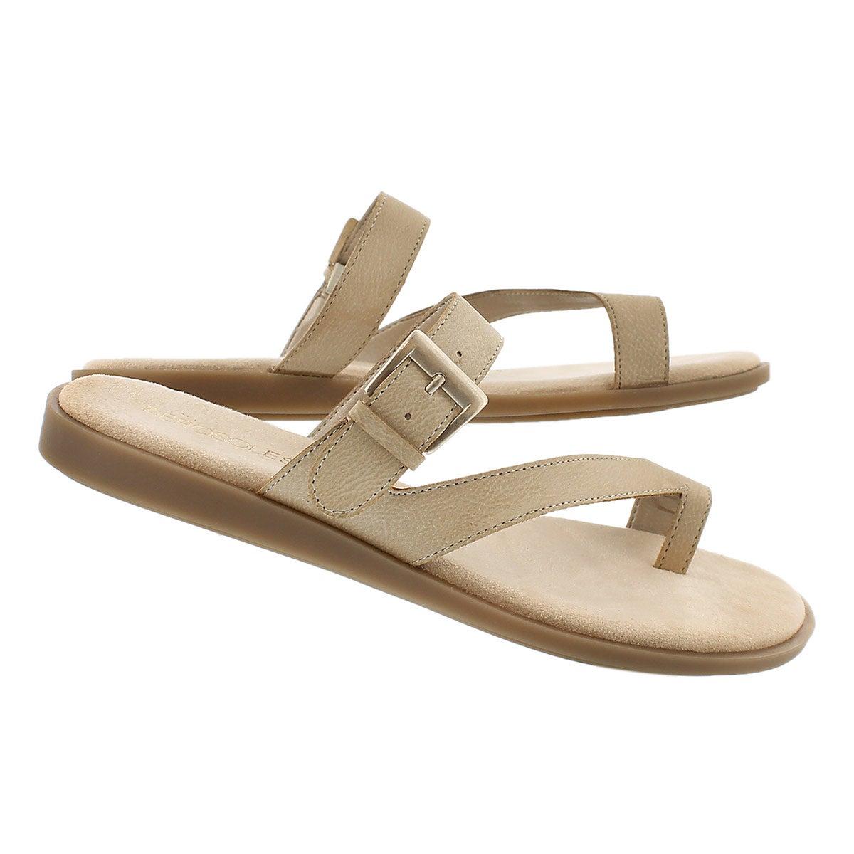 Lds Band Master bone toe loop sandal