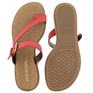 Lds Band Master red toe loop sandal