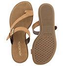 Lds Band Master tan toe loop sandal