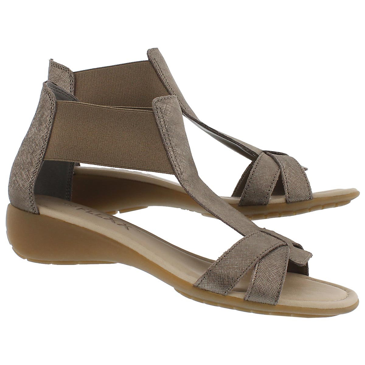 Lds Band Together bronze casual sandal