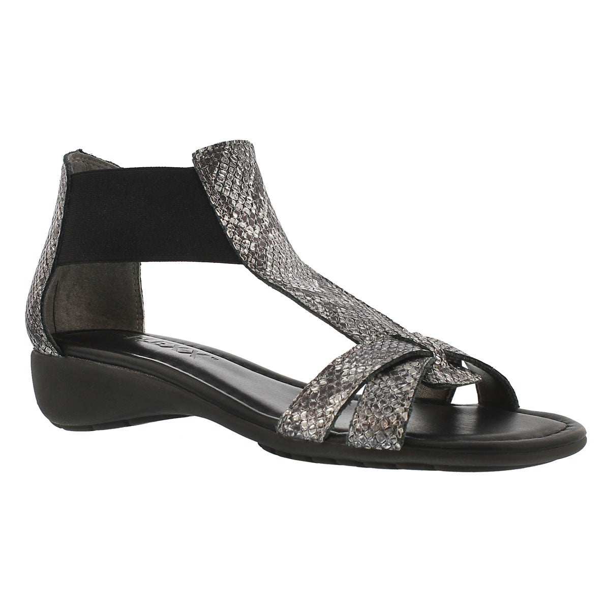 Lds Band Together silver printed sandal