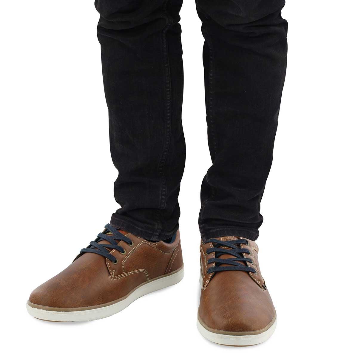 Mns Barnes cognac lace up casual sneaker