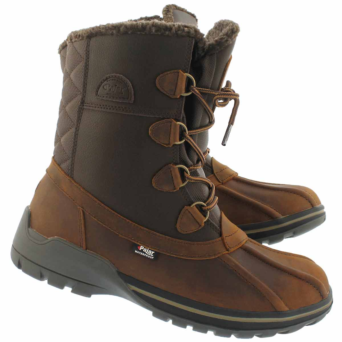 Mns Barrington brown wtpf winter boot