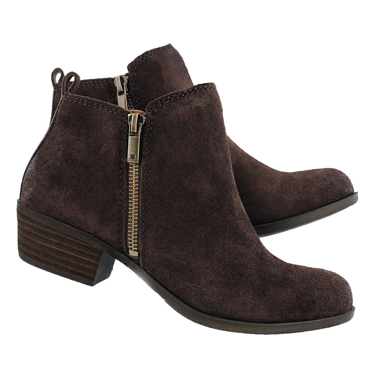 Lds Basel java zip up casual bootie