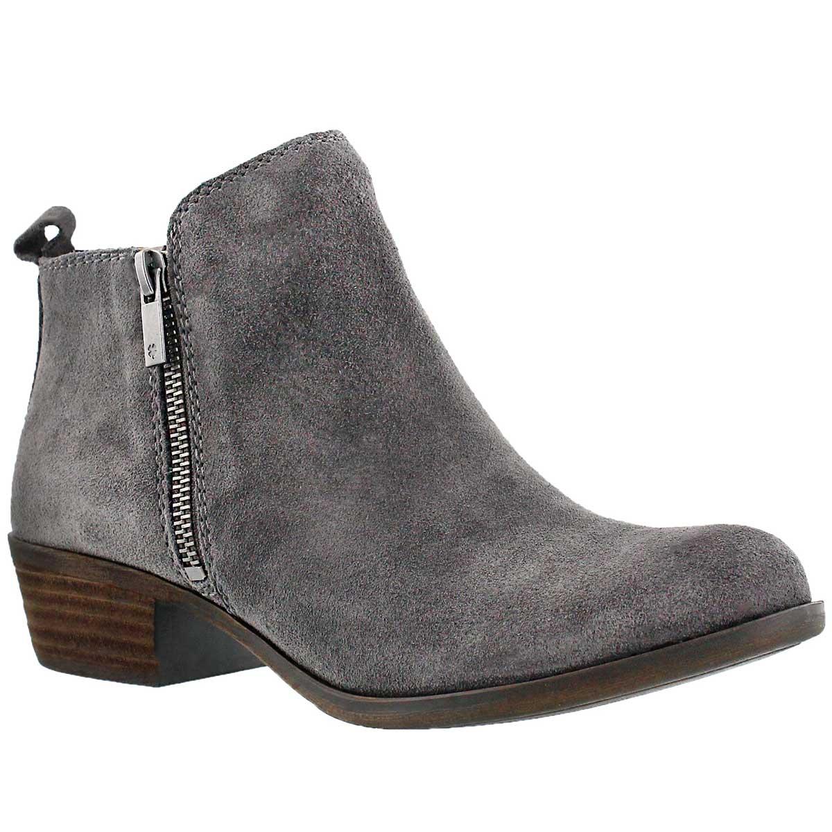 Women's BASEL storm zip up casual booties