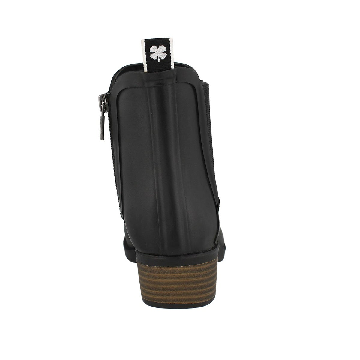 Lds Basel H20 black chelsea rain boot