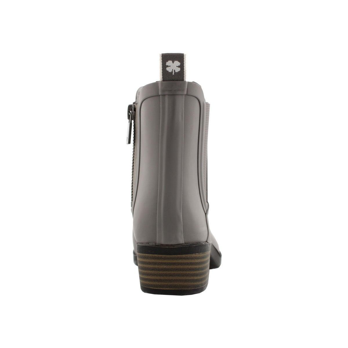 Lds Basel H20 titanium chelsea rain boot