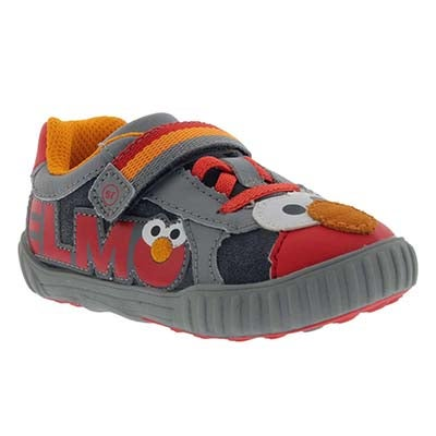Infs Elmo grey/red sneaker