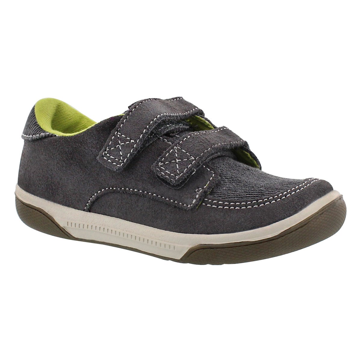 Inf Zach grey hook & loop sneaker