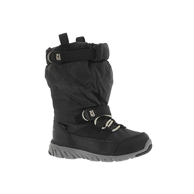 Stride Rite Infants' M2P SNEAKER BOOT black winter boots
