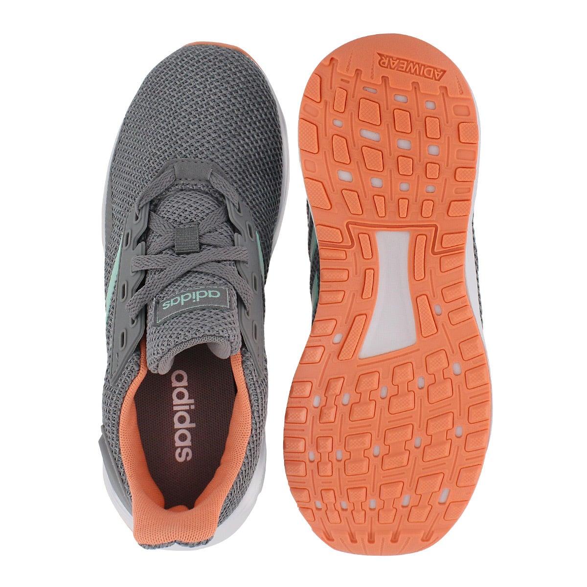 Grls Duramo 9 K gry/mnt/grnite sneaker