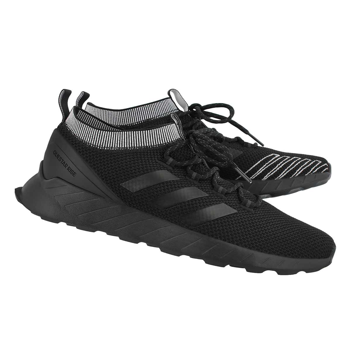 bf3baefe4031 adidas Men s QUESTAR RISE black running shoes