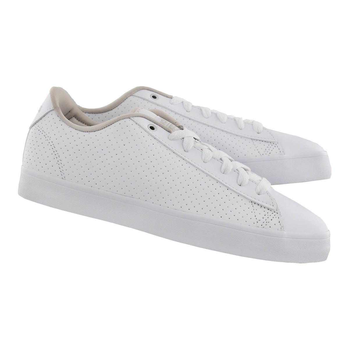 Lds CloudfoamDailyQT Clean wht sneaker