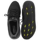 Mns CloudfoamUltimate bk/bk running shoe