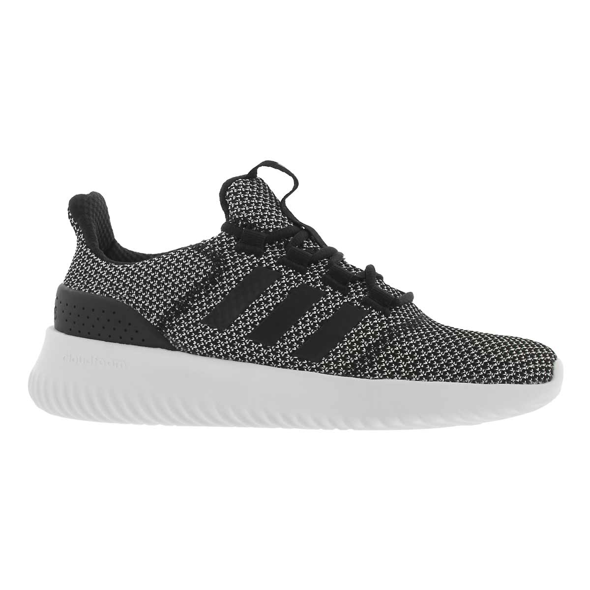 Lds Cloudfoam Ultimate blk running shoe