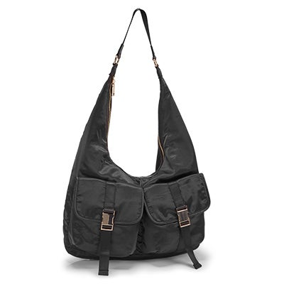 Lds BCole black hobo bag