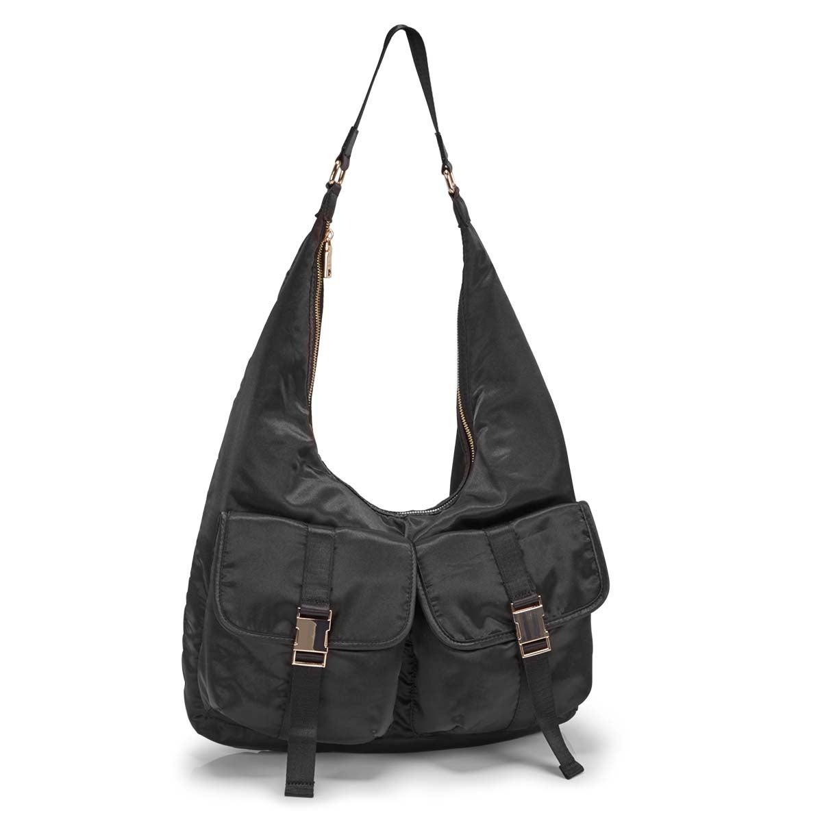 Women's BCOLE black hobo bag