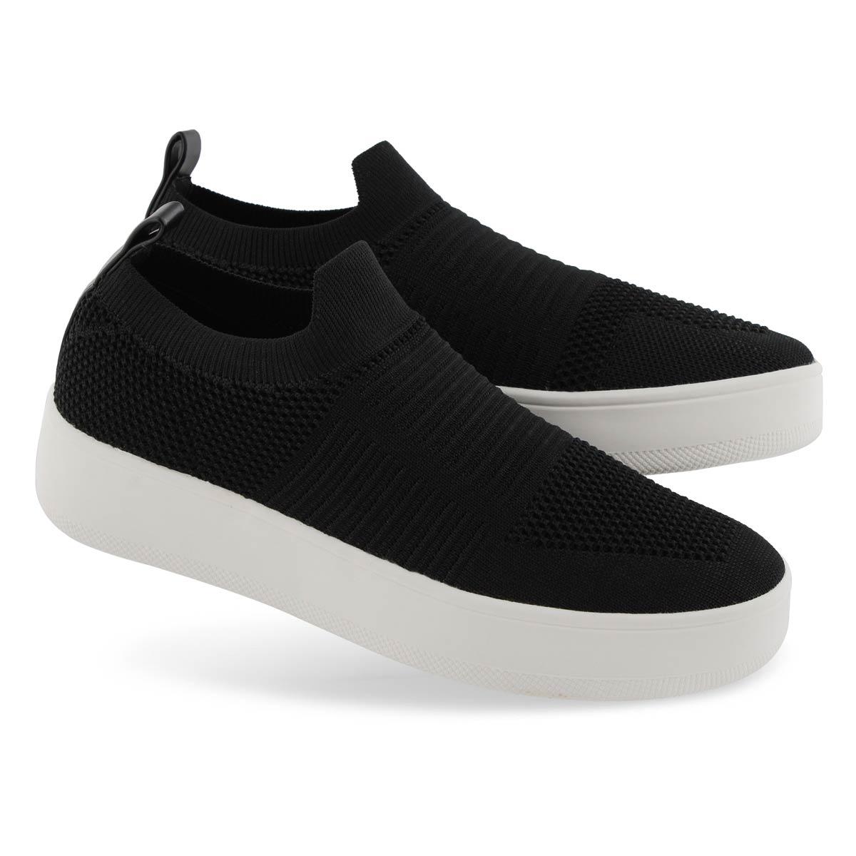 Lds Beale black slip on fashion sneakers