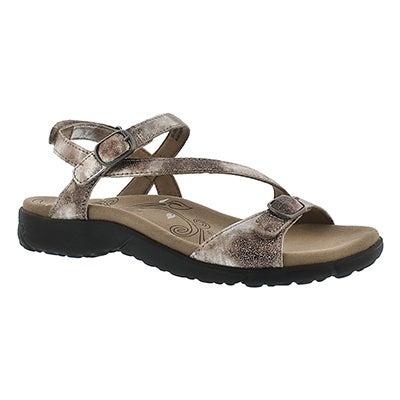 Lds Beauty silver casual sandal
