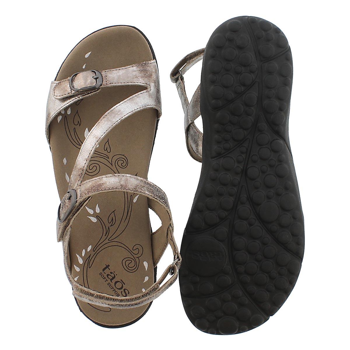 Sandale décontractée Beauty, argent, fem