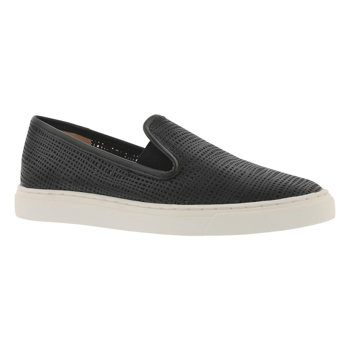 Women's BECKER black casual slip on shoes
