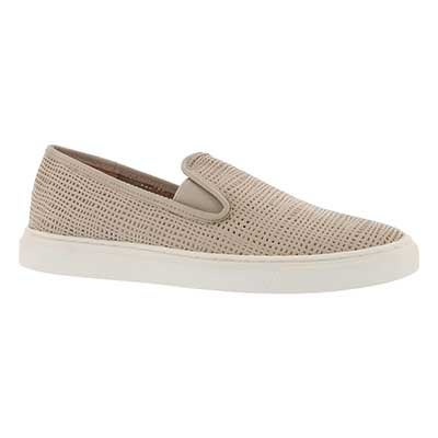 Lds Becker lt grey casual slip on shoe