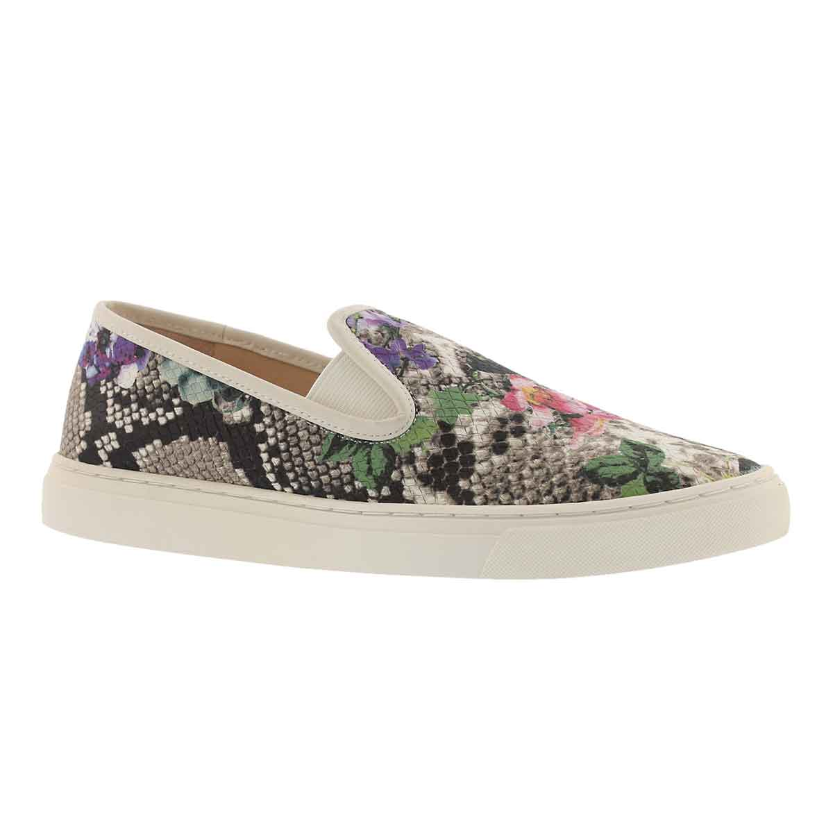 Women's BECKER multi colour casual slip on shoe