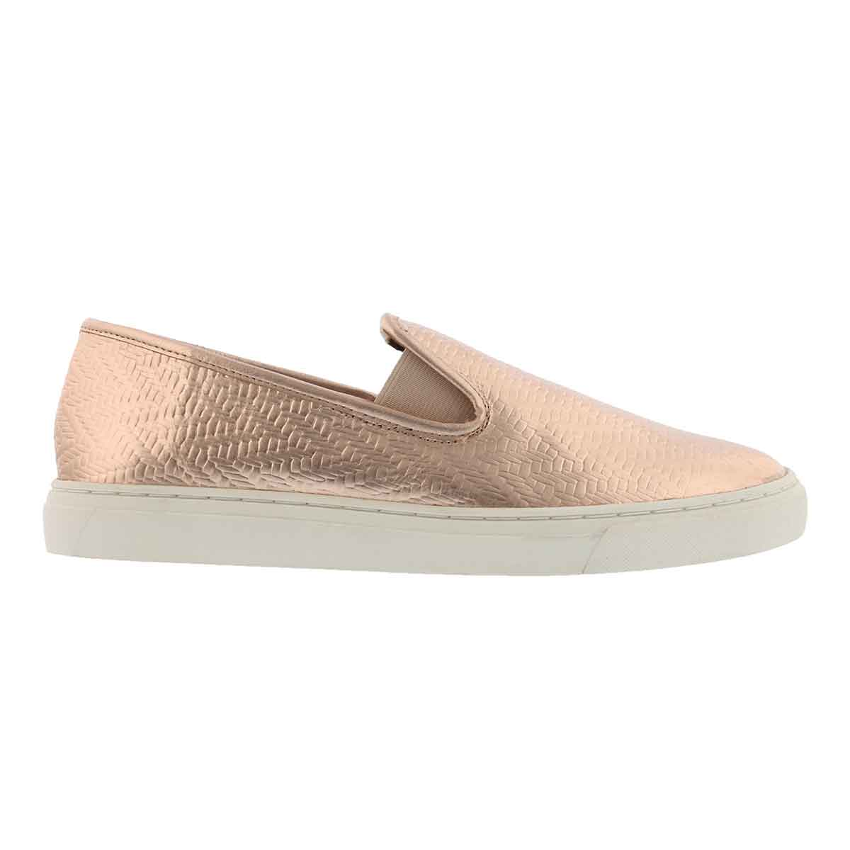 Lds Becker pale rose casual slip on shoe