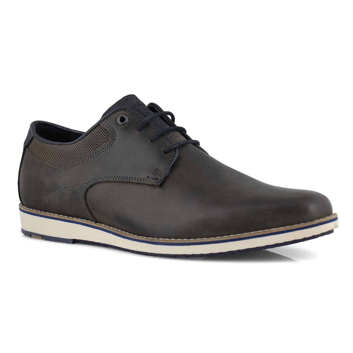 Mns Beckham grey casual oxford