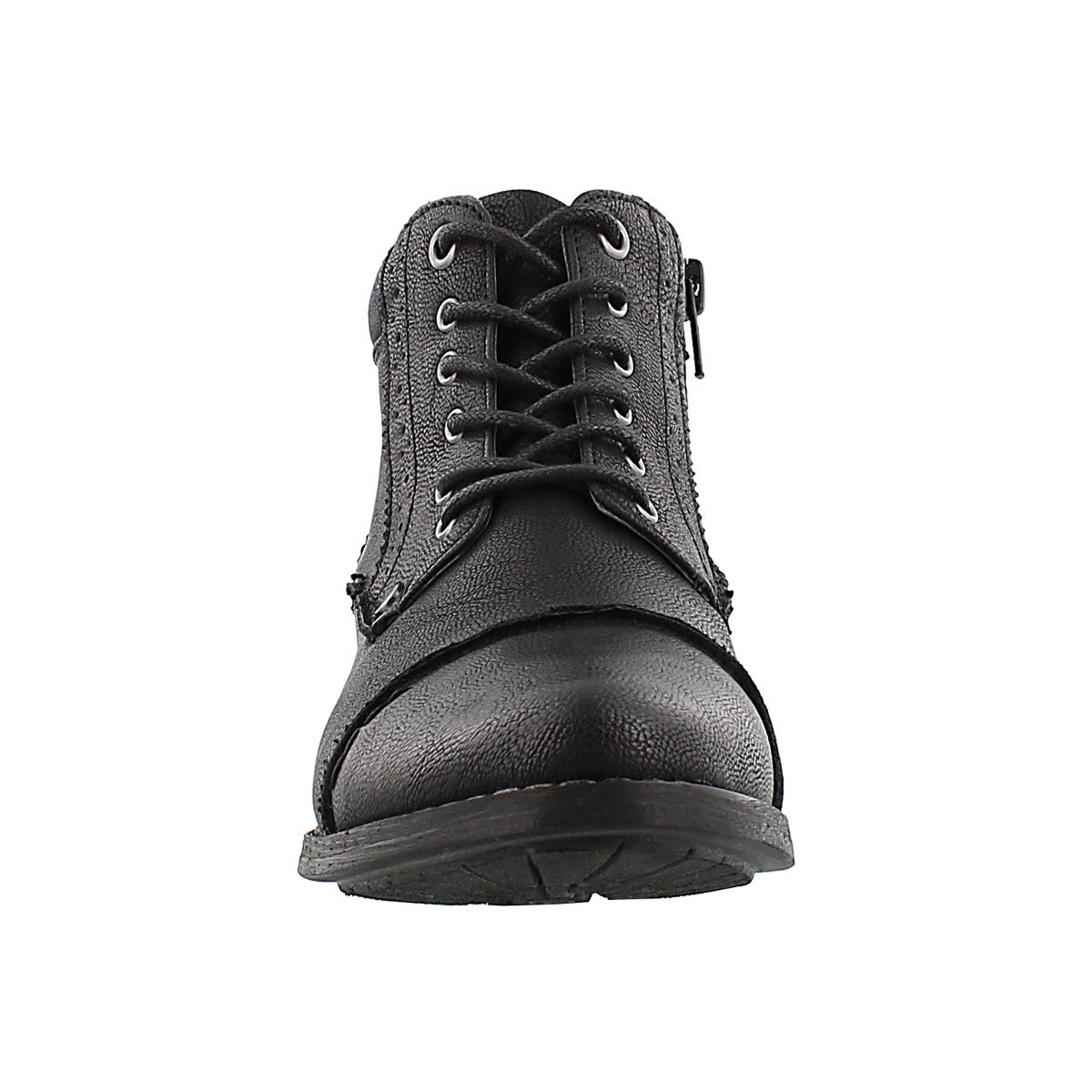 Lds Belicia black lace up ankle boot