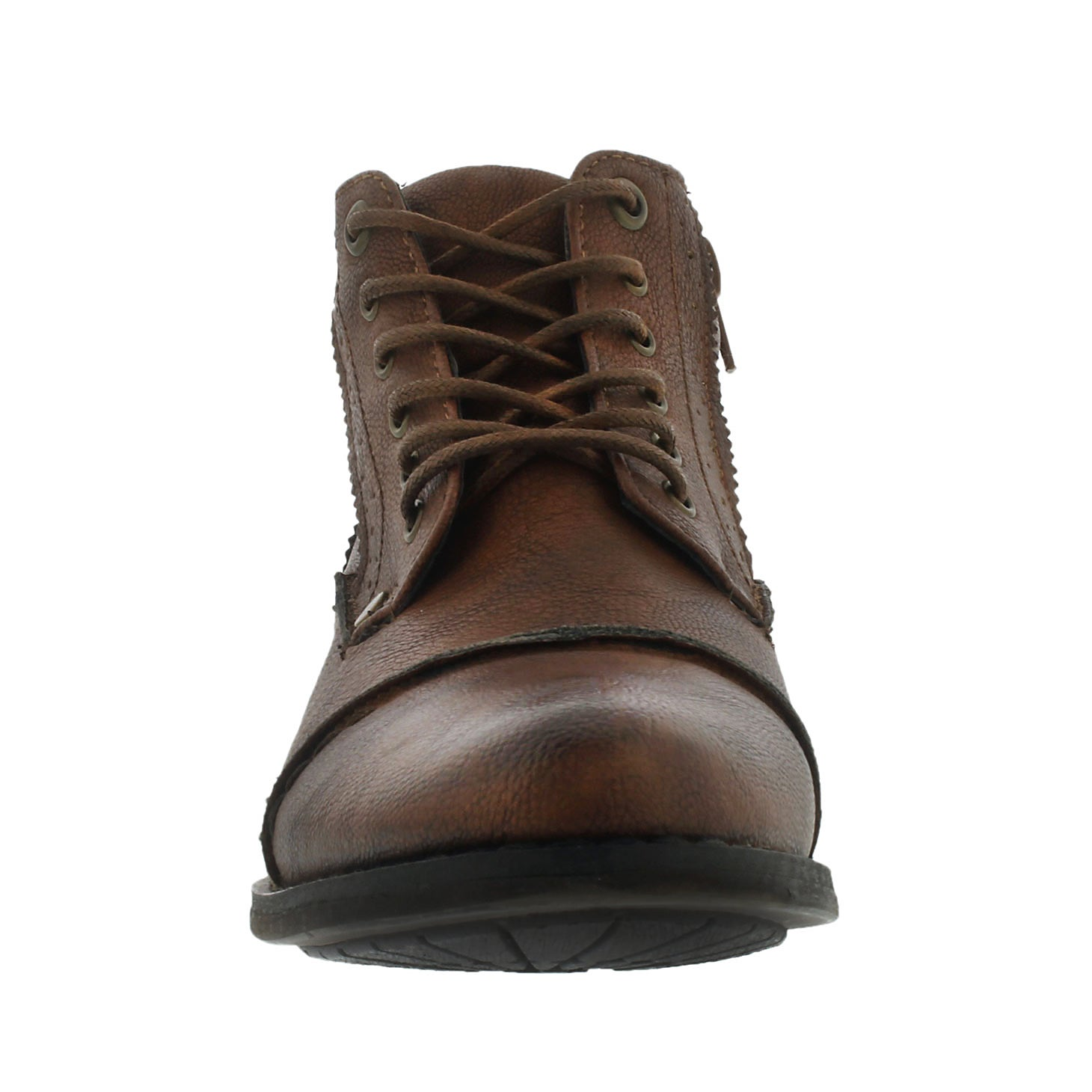 Lds Belicia cognac lace up ankle boot