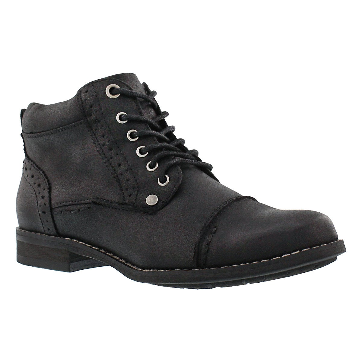 Lds Belicia II black lace up ankle boot