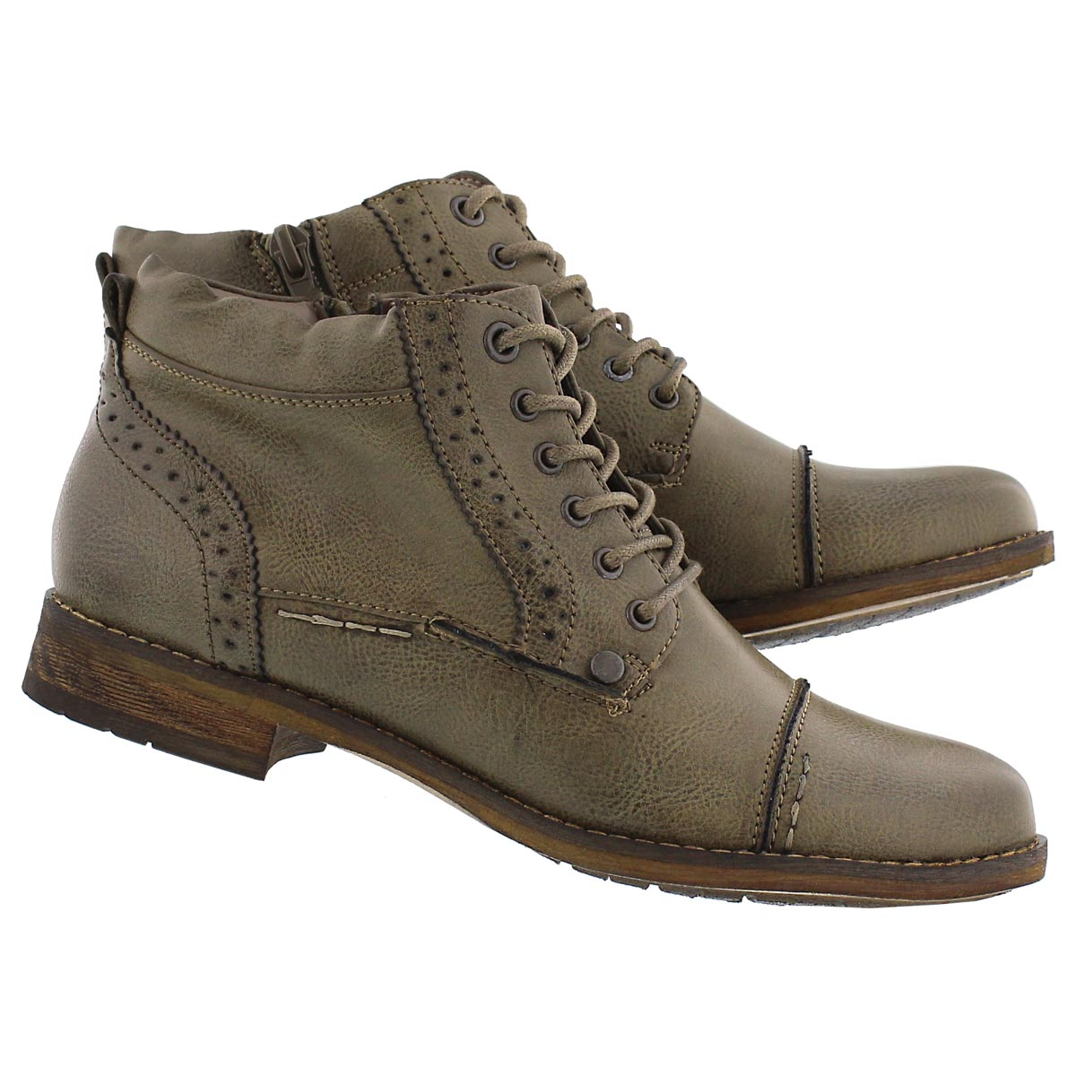 Lds Belicia II taupe lace up ankle boot