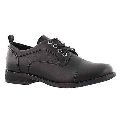 SoftMoc Women's BESILIA black lace up oxfords