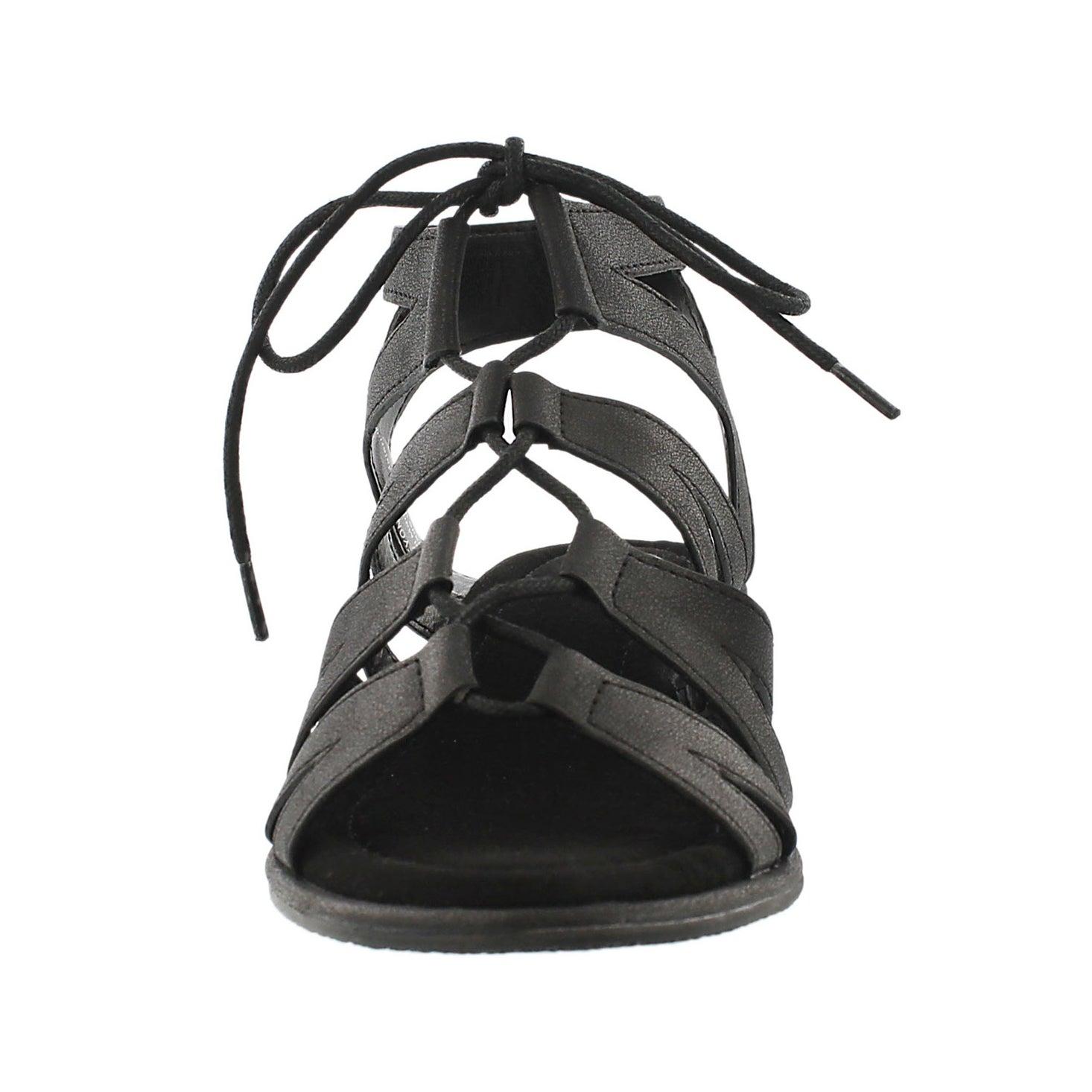 Sandale gladiateur Beyonce, noir, femmes