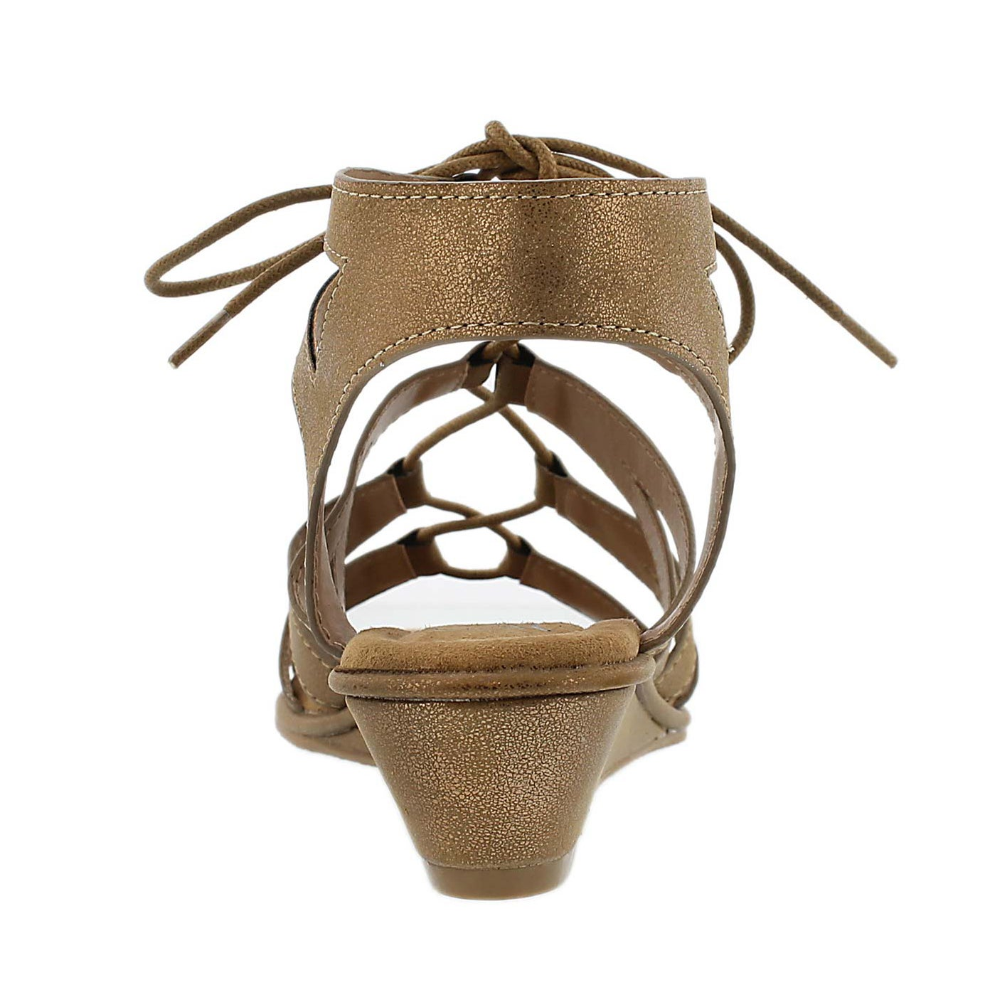 Sandale gladiateur Beyonce, cuivre, fem