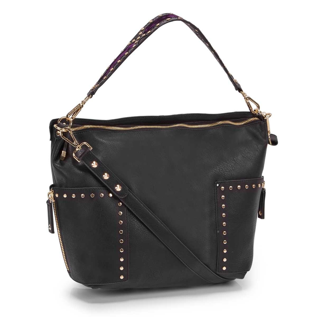 Women's BFRAN black hobo bag