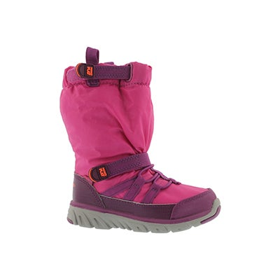 Stride Rite Infants' M2P SNEAKER BOOT pink winter boots