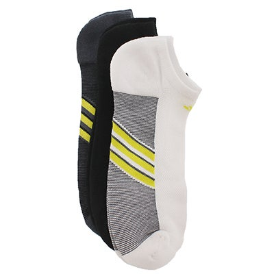 Adidas Men's CLIMACOOL SUPERLITE black/white socks - 3pk
